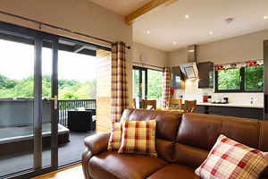 Magnificent Flowery Dell Luxury Yorkshire Holiday Lodges With Hot Tub Interior Design Ideas Philsoteloinfo