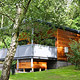 Self catering log cabins, Yorkshire Dales