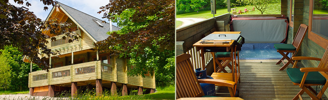 Flowery Dell Holiday Lodges - Wild Cherry & Wild Rose ...